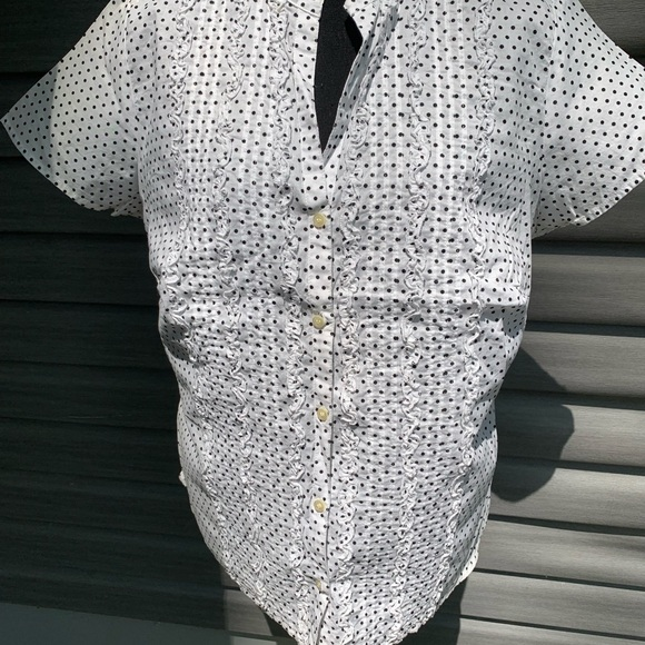 Charter Club Tops - Like New Charter Club white button-down blouse 14w
